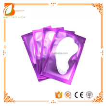 Wholesale private labeling eye gel patch silicone grafting eyelash pads