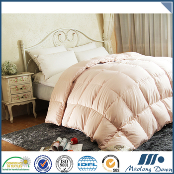 Fine elegant 100% Cotton plain dyed bedding comforter sets luxury