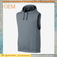 Custom Printing Men's Hoodie t shirt Sleeveless Different Colors Sports Clothing Men's t shirts