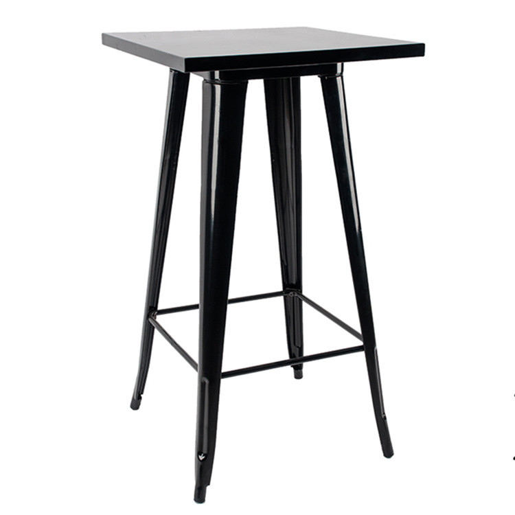 Black knock down bar table furniture for sale