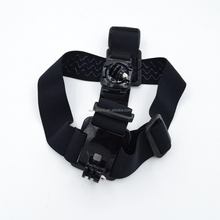 New style go pro head strap,Head belt Fit two camera with two mount for Go Pro 4/3+/3/2 for gopros accessories GP23B