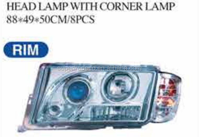 USE FOR BENZ PARTS ( 190E/W201 82-93 ) HEAD LAMP WITH CORNER LAMP