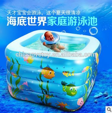 pvc inflatable product mini swimming pool /inflatable bathtube float for baby or kids