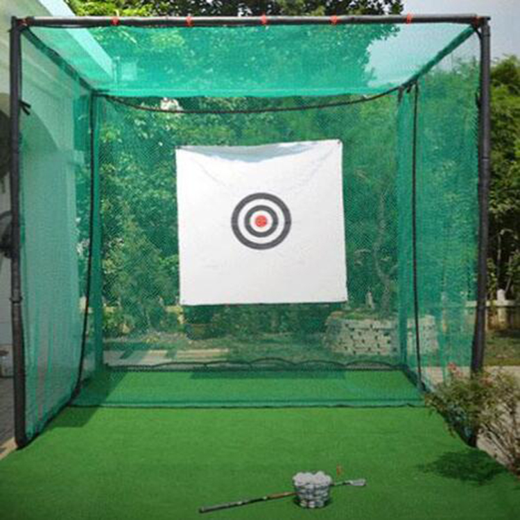 Trending hot products durable golf cage practice net training aids factory price golf practice net