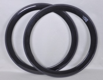 Factory price 3k glossy finish 700c road bike 50mm carbon fiber wheel rim