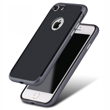 China manufacturer newly released carbon fiber phone case,mobile phone accessories,Anti fouling phone case for huawei Y5 II 2017