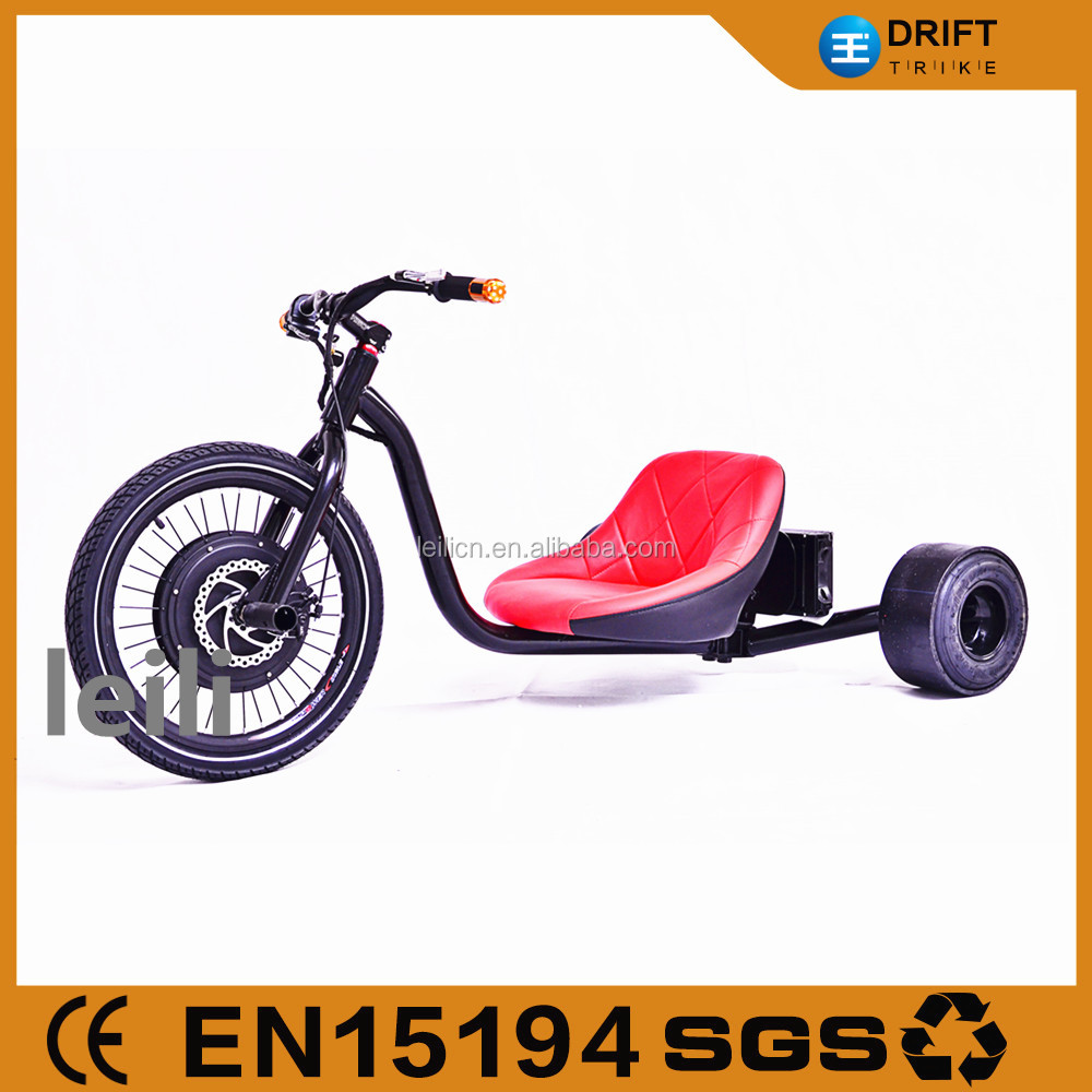 "20"" front wheel 50km/h powerful motorized drift trike 1000w for sale"