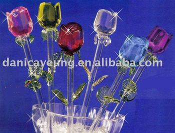 glass flowers spring flowers for valentine' day gifts