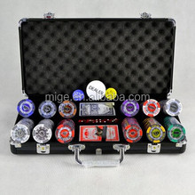 Casino Poker Chip Sets Fancy Poker Chip Set 300 (KL159)