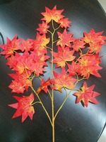 artificial centerpieces plastic fake tree branches with leaves for decoration