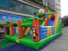 Large Inflatable Amusement Park Inflatable Slide,Giant inflatable Slide Inflatable Amusement Park,Giant Inflatable Kids Slides