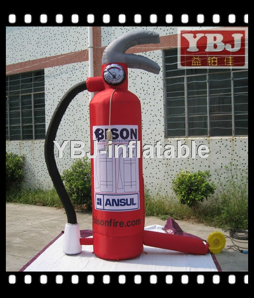Good quality fire extinguisher inflatable models