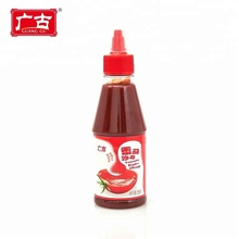 250g PET Bottle Packing Tomato Sauce Tasty Fresh Tomato Ketchup for Fast Food Restaurant