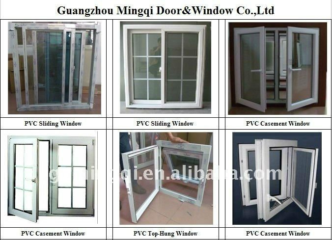 Small types pvc basement windows(sliding,awning,tilts)