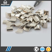 The Most Popular quality high grade curved ndfeb magnet