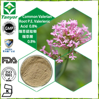 GMP factory pure natural plant extract Common Valerian Root plant extract