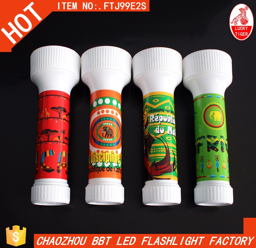 High Power Flashlight Plastic Head Small Head Plastic LED Flashlight High Quality