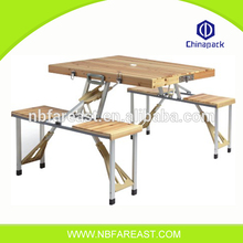 Wholesale cheap price commercial folding wood picnic tables