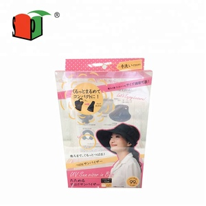 PVC / PET / Acetate / Clear Packaging Box for Sunhat / Sunglasses