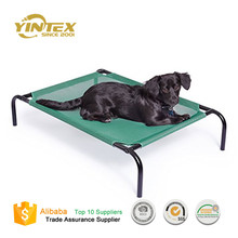 factory direct Outdoor Elevated Waterproof heavy duty pet dog cat bed trampoline hammock cot