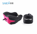 Wholesale new shape memory foam customized personalized travel neck pillow