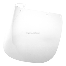 ANSI CE approved clear polycarbonate face shield visor