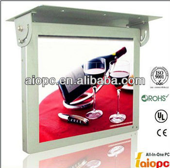 22 inch LCD bus advertising player/advertisement play