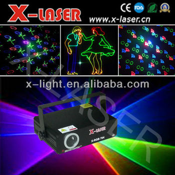 full color rgb 300mw laser light / sd card laser