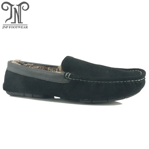 9227 Italian leather moccasin shoes for men