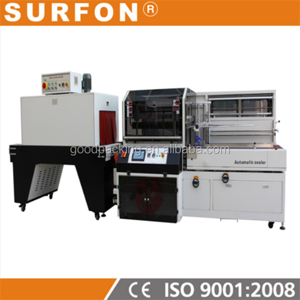 Vertical L Sealer Shrink Wrapping Machine