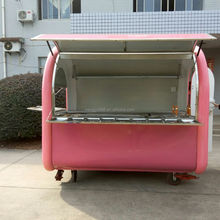 fast food truck/customized karry high quality dining van truck /Mobile Catering Food Van