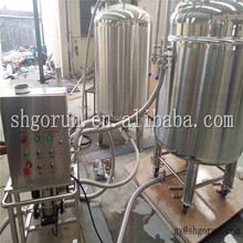 Double Headn Beer Keg Washer And Filler Unit Machine For Plastic/stainless Steel Kegs