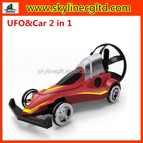 IR magic ufo toys, 2 in 1 ufo and car remote control ufo flying saucer