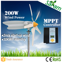 Home use 200W wind turbine for water pump