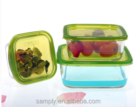 light weight plastic food container with divider