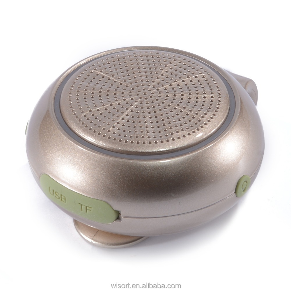 Mini portable led light bluetooth speaker with CE FCC RoHs certificates