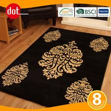 Rubber Backed Washable Area Rugs With Custom Designs