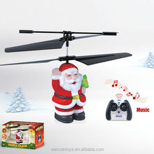 hot new product 2CH Santa Claus R/C helicopter of uav helicopter