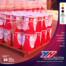 High quality Building Coating Usage iron oxide red pigment ceramic powder for concrete/bricks/colored asphalt