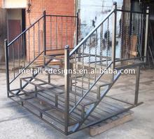 mild steel railing for staircase,mild steel railing,metal tube railing