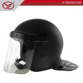 High securtiy protection police Anti riot military helmet with full face visor