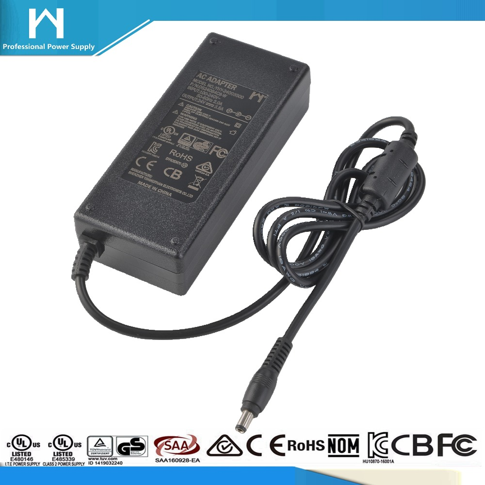 power adaptor safety mark 24Vdc 3.5amp ac dc adaptor 24V 3a
