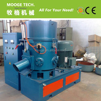 Plastic agglomerator for HDPE/LDPE film