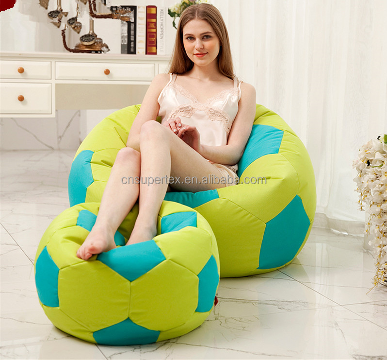 Soccer Ball Bean Bag Chair Football Design Beanbag Seat Chairs Product On Alibaba