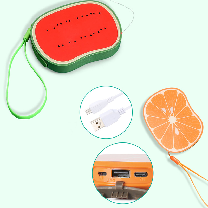2017 Hot Selling New Power Banks with Fruit Cute Design