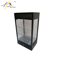 Luxury Glass Watch Display Showcase Acrylic Wrist Watch Display Cabinet