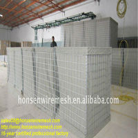 16-year factory!!! Sand filled gabion box hesco barrier wall