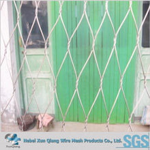 Used governemnt bridge Stainless steel wire rope mesh net