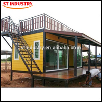 Light Type prefabricated steel 20ft small container house