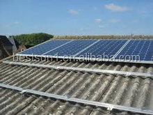 3KW rooftop solar power system connect with utility/public grid